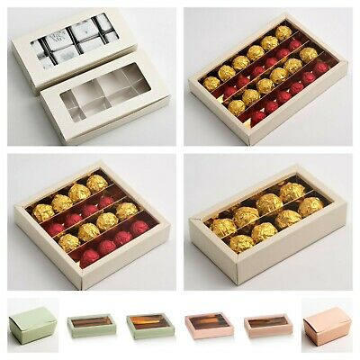 £5.79 • Buy Ballotin Boxes DIY Chocolate Sweet Wedding Favours Party Gift Truffle Box Only