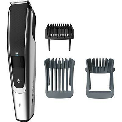 AU65.98 • Buy Philips Norelco - 5000 Series Trimmer With 3 Guide Combs Black/Silver BT5511 NEW