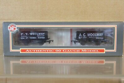 DAPOL F T & A C WOOLWAY EXETER 5 PLANK COAL WAGON LIMITED EDITION SET MIB Ns • 39.50£