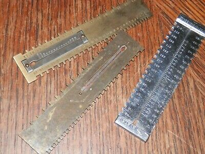 $ CDN38.09 • Buy Lot Of Vintage Antique Watch Tools, Spreader,  Watch Ruler Lot 2