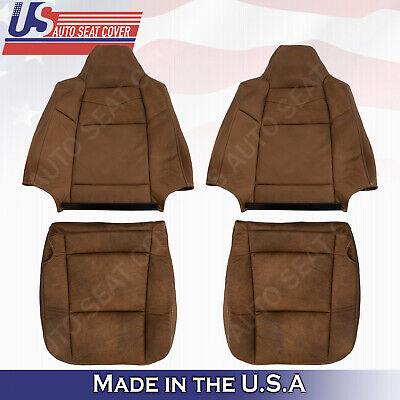 $178.06 • Buy  Front Leather Seat Cover 2003 2004 2005 2006 2007 Ford F250 F350 450 KING RANCH