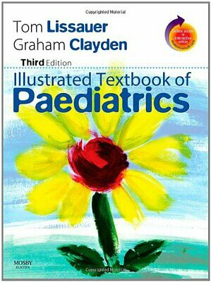 £3.56 • Buy Illustrated Textbook Of Paediatrics: With STUDENT CONSULT Online Access-Tom Lis