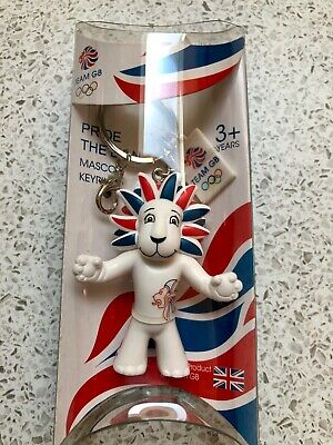 Team Gb Pride The Lion London Olympics Official Mascot Key Chain Keyring New • 4.99£