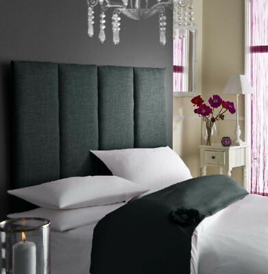 £43.95 • Buy 26  Height Tassy Turin/Linen Fabric Beautiful Design Bed Headboard In All Colour