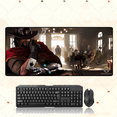AU35.33 • Buy Overwatch OW Jesse·Mccree Extra Large Mouse Pad Free Shipping(32'' * 12'' )
