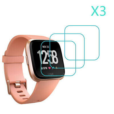 $ CDN3.80 • Buy 3-Pack For Fitbit Versa Tempered Glass Screen Protector Saver