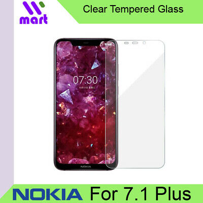AU2.81 • Buy Clear Tempered Glass Screen Protector For Nokia 7.1 Plus
