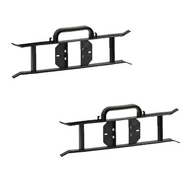 2 Cable Wire Tidy Reel H Frame Extension Power Lead Rope Carrier Wrap Holder BLK • 5.92£