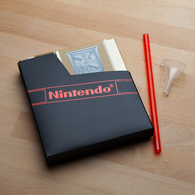 Officially Licensed The Legend Of Zelda Gold Nes Cartridge Canteen Flask • 19.78£