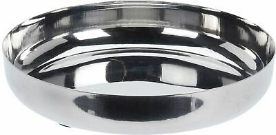 £1.99 • Buy Lovely Round Stainless Steel Display Tray, Candle Tray, Perfume Tray