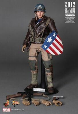 $ CDN866.16 • Buy 1/6 Hot Toys Mms180 Captain America The First Avenger Rescue Uniform Version