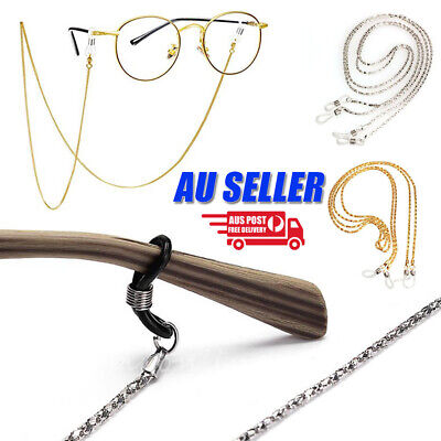 AU3.98 • Buy Eye Glasses Sunglasses Spectacles Eyewear Chain Cord Lanyard Strap Holder Unisex
