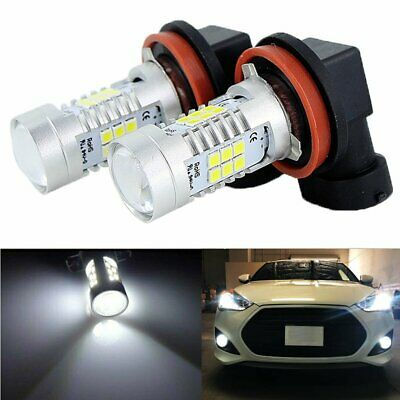 AU16.51 • Buy 2X LED Fog Light Bulb H8 H9 H11 Fog Light Bulb 6000K White High Power 200W Lamps