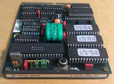 $1200 • Buy MP Unit A810 1.810.780.22 FOR STUDER A810  ( Recapped With NEW Battery )