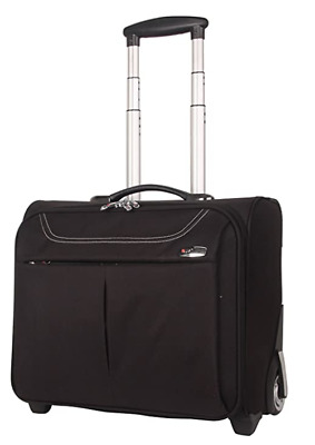 Wheeled 17  Laptop Trolley Case Office Cabin Luggage Business Work Briefcase Bag • 39.99£
