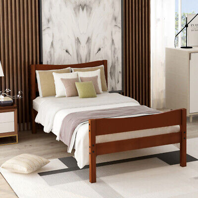 Pub Table Dining Set 5-Piece Counter Height Table Set W/4 Chairs Beige/Espresso • 159.99$