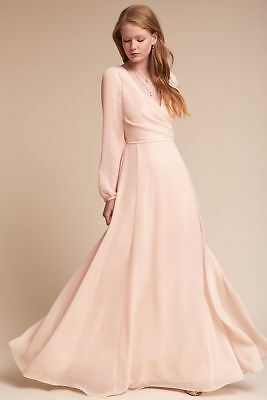 e5e0f413e5d58 BHLDN Anthropologie Nova Dress Watters Wedding Formal Ice Pink Beautiful  NWT 2 • 150.00$