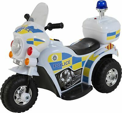 Chad Valley 6V Ride On Police Bike • 55£