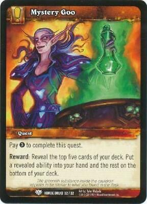 AU4.75 • Buy 8x Mystery Goo - Horde Druid 32/32 - Common NM WoW World Of Warcraft