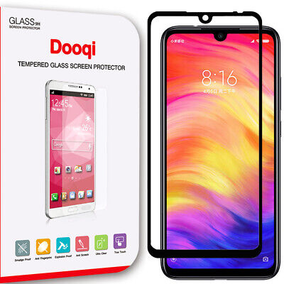 $6.99 • Buy Full Coverage Full Glue Tempered Glass Screen Protector For Xiaomi Redmi Note 7