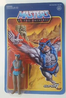 $35.24 • Buy Stratos - Masters Of The Universe ReAction Figure By Super7 (MOTU)
