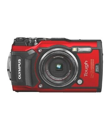 View Details OLYMPUS TG-5 Tough Compact Camera - Red • 348.00£