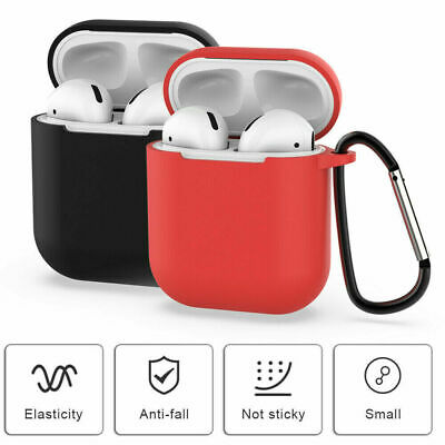 $ CDN2.99 • Buy AirPods Silicone Case Cover Protective Skin For Apple Airpod Charging + Keychain