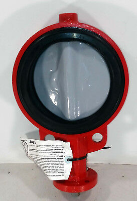 $224.99 • Buy 1 NEW BRAY SER. 30 WAFER STYLE RESILIENT-SEATED BUTTERFLY VALVE 6  175psi