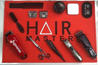 $25 • Buy Hair Master Barber Station Mat- Red $25.00