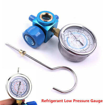 $ CDN31.74 • Buy R410A R22 R134A 1/4 Car Air Conditioning Refrigerant Low Pressure Gauge Meter X1