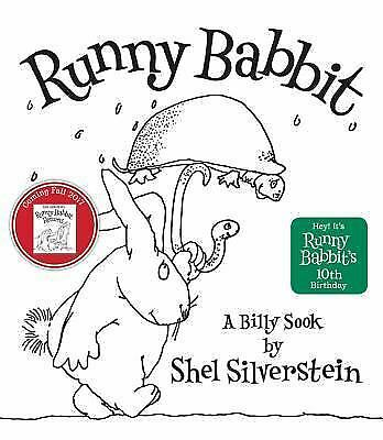 Runny Babbit : A Billy Sook By Shel Silverstein (Hardcover) • 5.82£