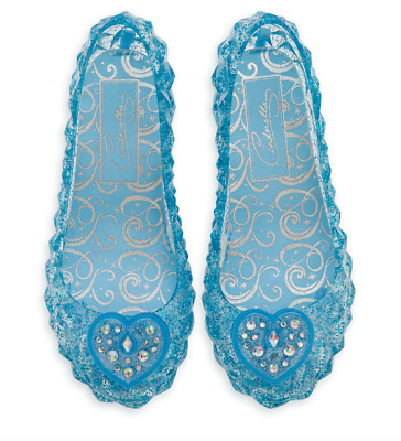 NEW Disney Store Cinderella  Light Up Costume Shoes 7/8 NWT  • 19.99$