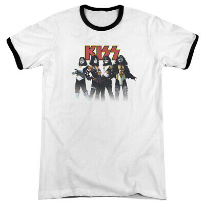 $32.09 • Buy Kiss Throwback Pose Short Sleeve T-Shirt Licensed Graphic SM-3X