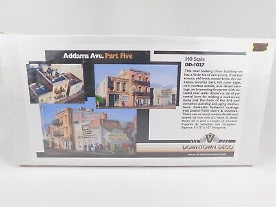 $ CDN92.61 • Buy HO Scale Downtown Deco DD1027 Addams Ave. Part Five Model Building Kit SEALED