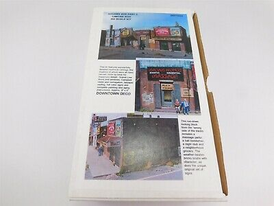$ CDN66.13 • Buy HO Scale Downtown Deco DD1002 Addams Ave Part 2 Model Building Kit