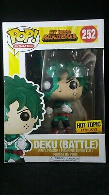 $25 • Buy Funko Pop Animation 252 My Hero Academia Battle Deku Hot Topic Exclusive