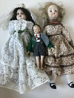 $ CDN32.66 • Buy Porcelain Doll LOT AS IS
