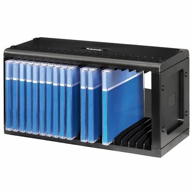 Hama 20 CD Storage Racks - In Grey Or Black - Stackable And Wall Mountable • 12.99£