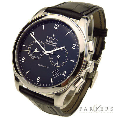 $4474.50 • Buy Zenith El Primero Grande Class Stainless Steel Automatic Wristwatch 03.0520.4002