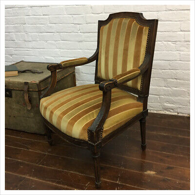 Industrial Vintage Antique French Carver Chair • 104.50£