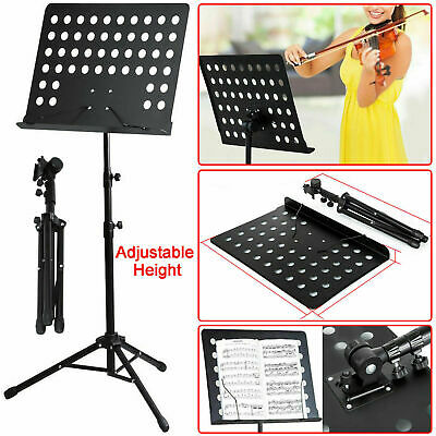 Folding Guitar Stand Foldable A-frame Music Floor Electric Acoustic Bass New • 7.25£