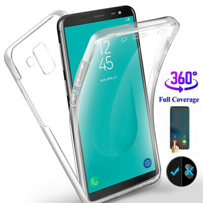 AU4.66 • Buy For Samsung Galaxy J3 J5 J4+ J6+ J7 J8 Clear 360° Full Protect Hybrid Case Cover