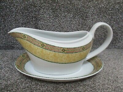 Wedgwood Home - Florence - Gravy Sauce Boat Jug & Stand • 8.99£