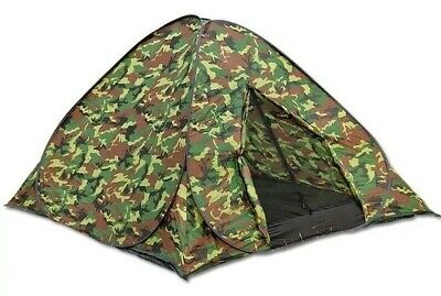 AU46.93 • Buy 3-4 Man Person Auto Pop Up Tent Outdoor Festival Camping Travel Beach Family