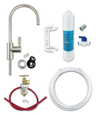 £21.99 • Buy Under Sink Drinking Water Filter Kit System - Finerfilters Classic Includes Tap