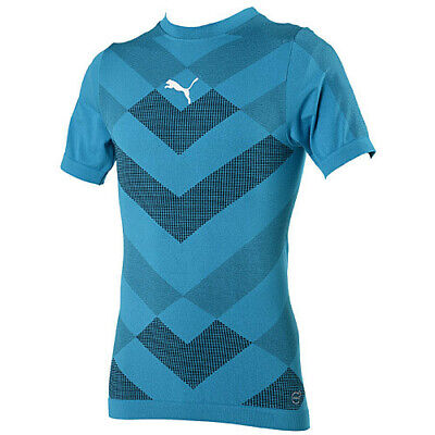 £9.99 • Buy Puma Mens Training Top T-Shirt Compression Technical ACTV Fitness Gym Base Layer