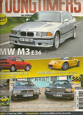 $ CDN16.79 • Buy YOUNGTIMERS 25 BMW M3 E36 LOTUS ELISE S1 HONDA CIVIC CRX 1.6i-16 JAGUAR XJ40