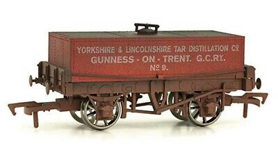 Dapol Rectangular Tank Yorkshire & Lincolnshire Tar Weathered OO Gauge • 17.29£