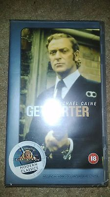 Get Carter - VHS VIDEO - Michael Caine 'Modern Classics' • 1.99£