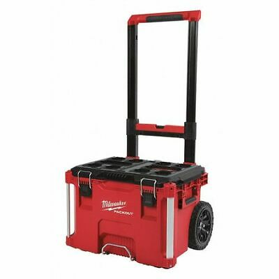 """View Details MILWAUKEE 48-22-8426 PACKOUT™ 22"""" Impact Resistant Rolling Tool Box • 89.99$"""